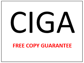 FREE COPY CIGA GUARANTEE