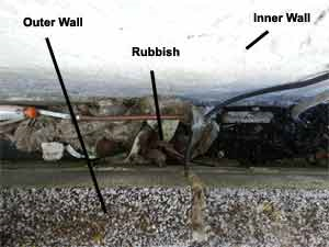 Why Does Rubble in A Cavity Wall Cause Problems?