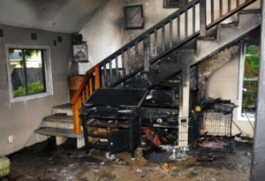 Flood and Fire Damaged Cavity Wall Insulation